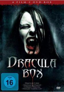 Dracula Box   4 Filme   2 DVD BOX NEU OVP