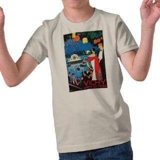 Vichy   Comite des Fetes   Vintage 1926 T shirt