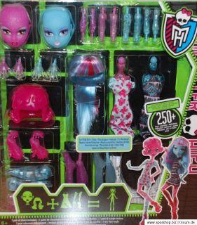 Monster High Create a Monster Farbtupfer   Eis Monster Girl Y0417