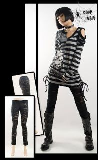 VISUAL PUNK GOTHIC LOLITA ROCK Kera Nana Hose leggings