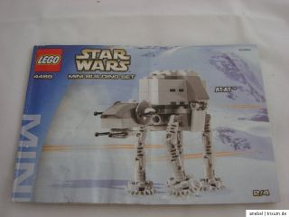 Lego Star Wars 4489 Mini AT AT Walker, mini Building Set + BA