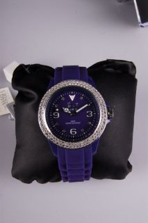 ICE WATCH Stone sili   Purple Silver Dark   Unisex Becubic Rubber