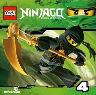 LEGO Ninjago 2. Staffel CD 4 Das Jahr der Schlangen (1 CD Hörspiel