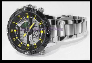 Weide watch WH 1104 analog digital EL backlight watch dual movement