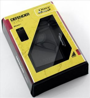 OtterBox Defender Case Cover for iPhone 4 4G Black