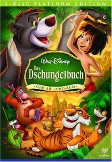 Das Dschungelbuch   Platinum Edition   2 DVDs   Walt Disney   NEU+OVP
