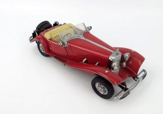 Franklin Mint 1935 Mercedes Benz 500 K Special Roadster   1:24 #Cb110