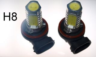 H8 High Power 6W LED Leuchtmittel 12V PKW / Auto Set