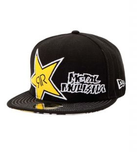 NEU   METAL MULISHA NEW ERA *ROCKSTAR* PINNED CAP   GR.7 3/8   OVP