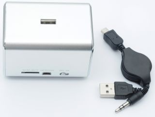Music angel mini Speaker Usb Fm radio for ipod iphone pc laptop MD05B