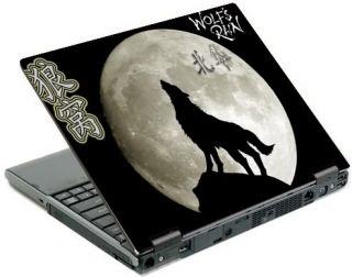 Wolf Notebook sticker Laptop Skin Aufkleber bis 15.4