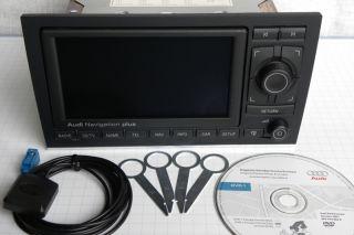 AUDI RNS E A4 S4 RS4 RADIO NAVIGATION plus SYSTEM Navi GPS Fakra dvd1