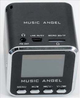 Black Music angel mini Lautsprecher fm radio w/ Screen für iPhone