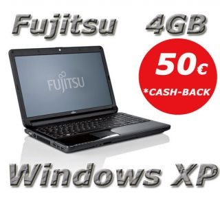 Windows XP Fujitsu Lifebook AH530 Intel Pentium 2x 2 1 GHz 4GB RAM