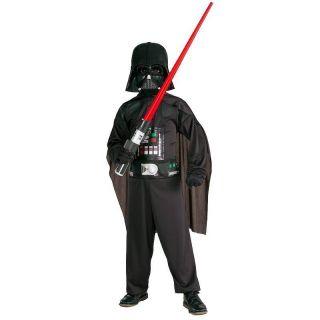 Star Wars DARTH VADER Kinderkostüm OVERALL MASKE Gr.S, M+L Fasching