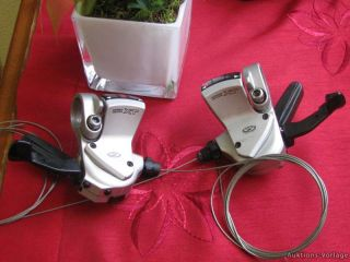 Shimano XT Rapid Fire Schalthebel SL M750 3/9 Fach silber Gebraucht no