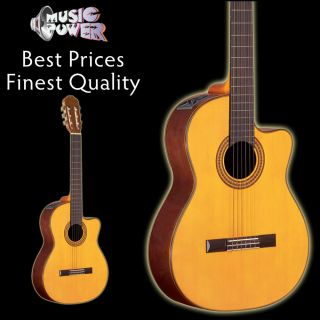 Takamine EG522C Classical Acoustic Electric Guitar   Free Case At BIN
