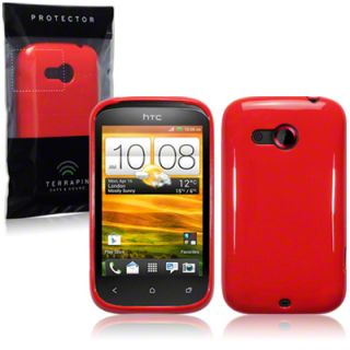 TPU Gel Case Cover for HTC Desire C Black,Red,Pink,Purple,White,Blue