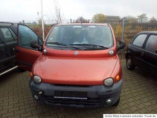 Fiat Multipla 1,6L 16V Bipower Erdgas Familienvan 6 Sitzer
