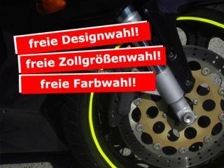 NEON rim wheel stripes für BMW 530 xi