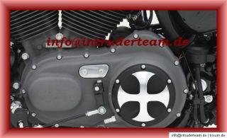 Deckel Motordeckel Kupplung Engine cover CROSS Harley Davidson