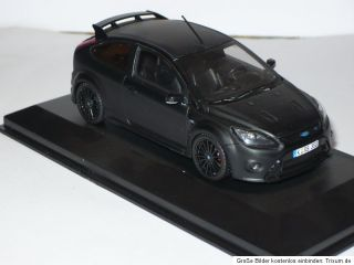 Minichamps Ford Focus RS 500,OVP, schwarz matt,limitiert,143, neu