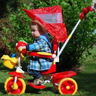 Dreirad Kinderdreirad Zusammanklappbares Kinderdreirad T TRIKE Farbe