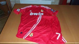 Cristiano Ronaldo 7 Real Madrid Trikot + Hose(Short) M UEFA CL