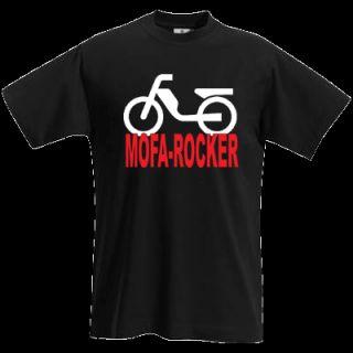 MOFA ROCKER T Shirt Moped Motorrad Gr. S XXL 540