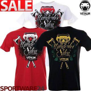 Venum T Shirt Wanderlei The Axe Murderer Silva schwarz/weiß/rot S/M/L