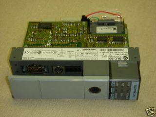 Allen Bradley SLC500 CPU SLC 5/04 1747 L542 + Memory