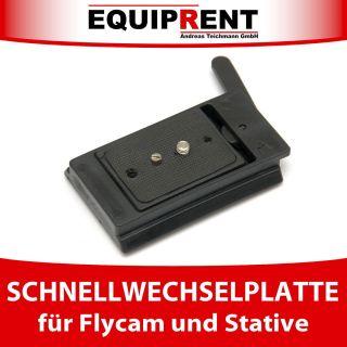 Leichte Quick Release Plate/Schnellwechselplatte f. FLYCAM 3000/5000