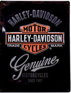 Vintage Oldtimer Motorrad Bike Harley Schild Plakat *561 neu