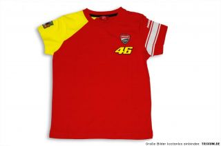 DUCATI Corse Kinder T Shirt VALENTINO ROSSI D46 Start