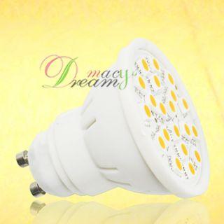 5W GU10 Warm White 20 SMD 5050 LED Light Bulb Lamp,K