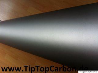 Silber Grau Matt Metallic  Pearl Effect  Auto Car Wrap Folie mit