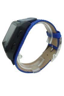 Puma Herrenuhr Storm of Agitation blue PU910321004 digital Armbanduhr
