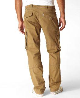 NEW Mens Levis 569 Loose Cargo Combat Pants Jeans 34/34 Blk