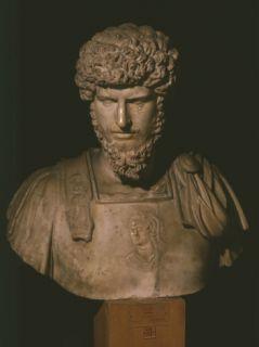 Lucius Aurelius Verus, Roman Emperor, ruled 161 9 Photographic Print