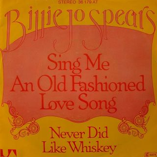 BILLIE JO SPEARS Sing Me An Old Fashioned Love Song