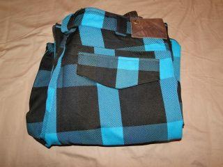 Burton Cargo Pants Snowboardhose Gr.XL blau/schwarz kariert ### wie