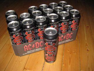 Bierdose Beer Can Angus Young 0,568 ml NEU & OVP AC DC VOLL Rarität