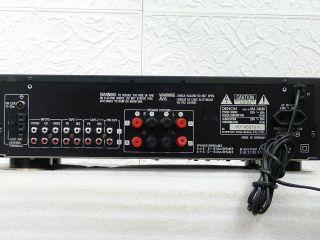 DENON DRA 565 RD Stereo Receiver