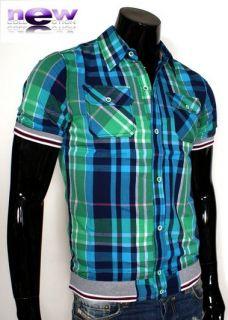 HEMD Herren KURZARM polo Größe S M L XL XXL SlimFit Neu G Shirt Star