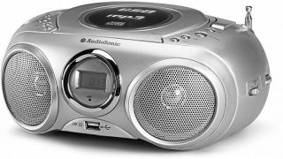 Radiorecorder CD  Player Radio USB Wiedergabe NEU AudioSonic CD 571