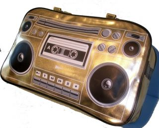 Big Boombox Hippie DJ RADIO Tasche Vintage HIP HOP Bag