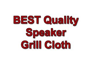 Quality Pure White SPEAKER GRILL CLOTH Stereo Grille Fabric # A 572
