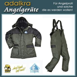 ICEBEHR Thermo Angler Anzug Jacke Hose Gr. S   4XL Spitzenqualität v