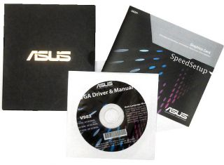original Asus GTX560Ti Treiber CD DVD V982 driver manual ~005