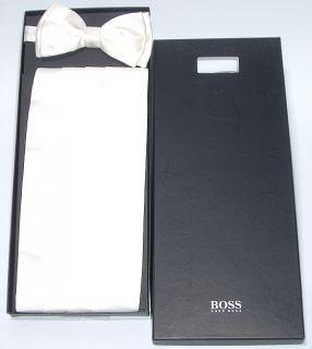 Hugo Boss Seiden Kummerbund & Fliege cummerbund Bow Tie
